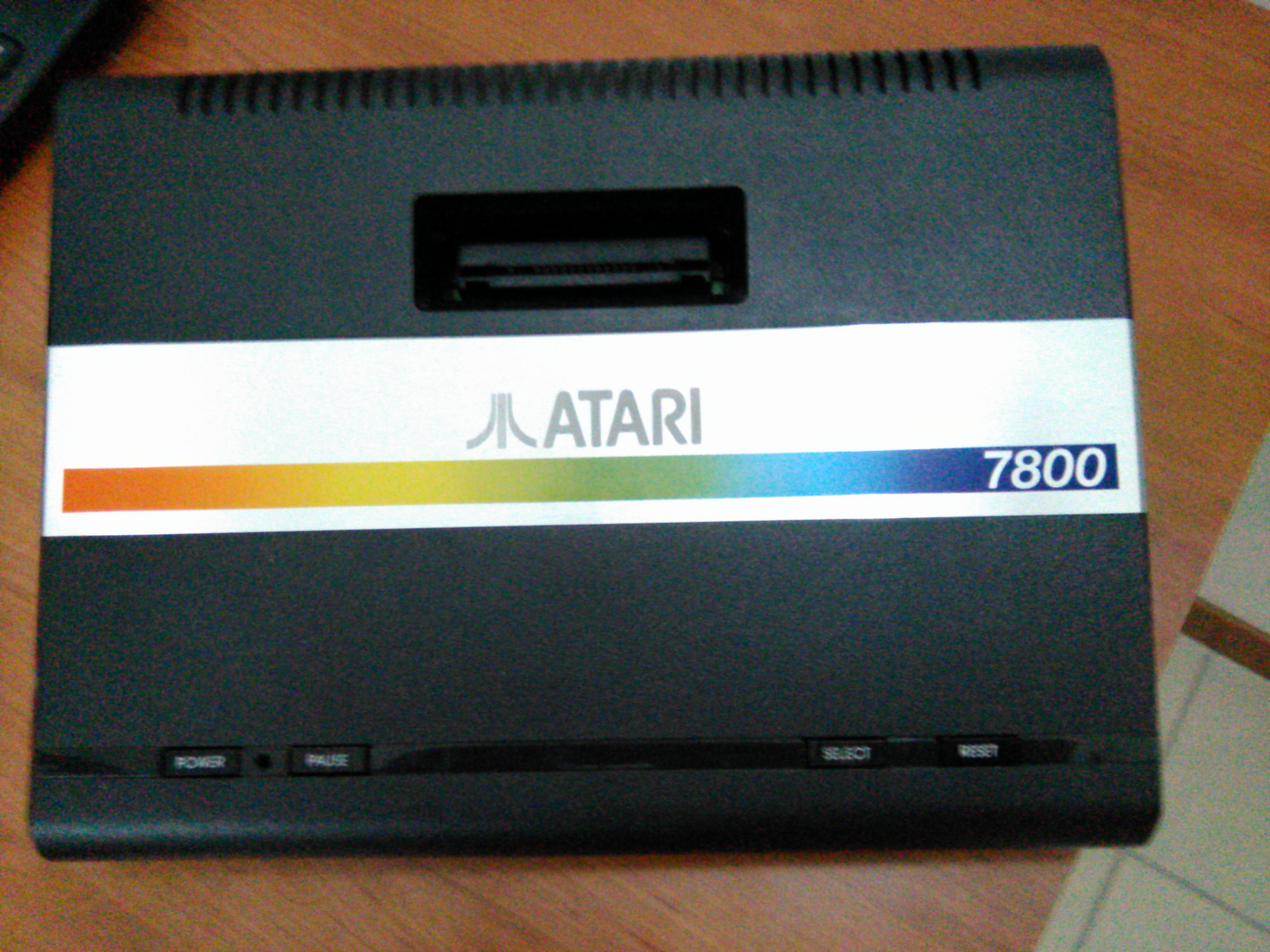atari 7800 repair