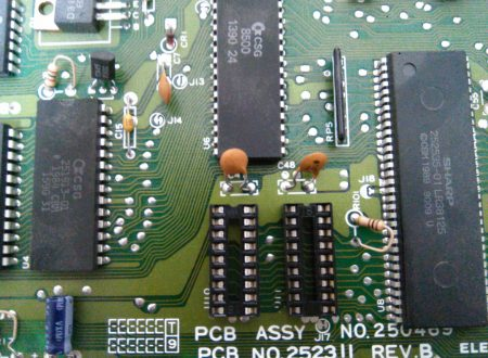 Commodore 64 C RAM strange issue