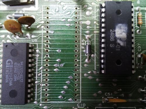 Commodore 64 fix: blank screen, bad cassette switch sense
