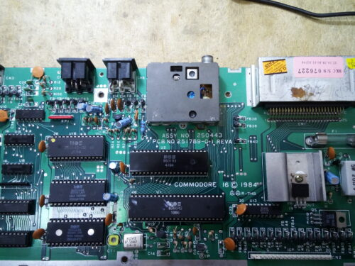 A 64K Commodore 16: how to expand its RAM memory