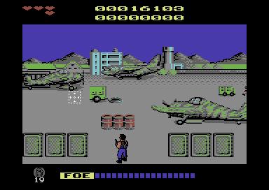 Game review: Cabal (Commodore 64, EU version)