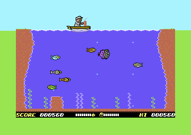 Freaky Fish Deluxe (new C64 game)